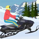 Play Snowmobile Extreme Jump