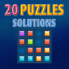 Play 20 Puzzles Solutions