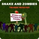Play Snake and Zombies-Treasure Protection