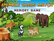 Animal Cards Match
