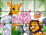 Animals Sliding Puzzle