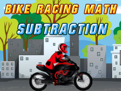 Play Bike Racing Subtraction