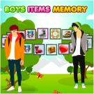 Play Boys Items Memory