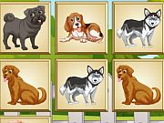 Play Dogs Memory