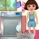 Play Dora Washing Dishes