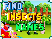 Play Find Insects Names