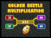 Play Golden Beetle Multiplication