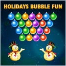 Play Holidays Bubble Fun