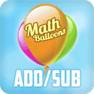 Play Math Balloons Addition/Subtraction