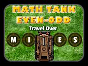 Play Math Tank Odd Even
