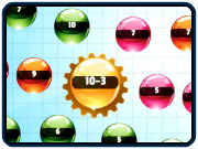 Play Orbiting Numbers Subtraction