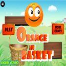 Play Orange In Basket