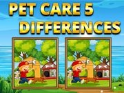 Play Pet Care 5 Differences