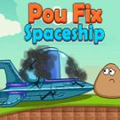 Play Pou Fix Spaceship