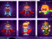 Superheroes Cards Match