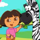 Play Dora Care Baby Zebra